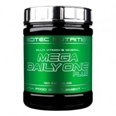 Вітаміни Mega Daily One Plus 120 caps Scitec Nutrition