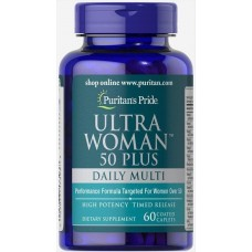 Вітаміни Ultra Vita Man 50 Plus 60 Tablets Puritan's Pride