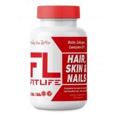 Здоров'я волосся, шкіри та ногтейHair, Skin & Nails 120 caps FitLife