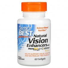 Natural Vision Enhancers with FloraGlo Lutein 60 Softgels Doctor's BEST