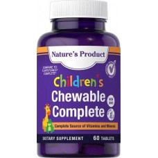Вітаміни для дітей Children's Chewable Complete 60 Tablets