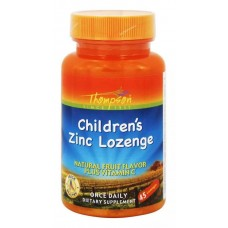 Цинк з вітаміном С для дітей Children's Zinc w / C 5 mg 45 Lozenges Thompson