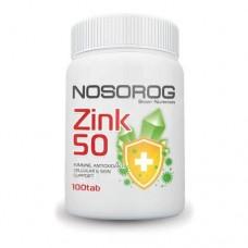 Цинк Zink 50 100 Всі таб Nosorog